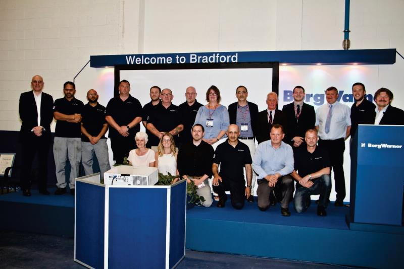 BorgWarner CEO Safety Award Bradford